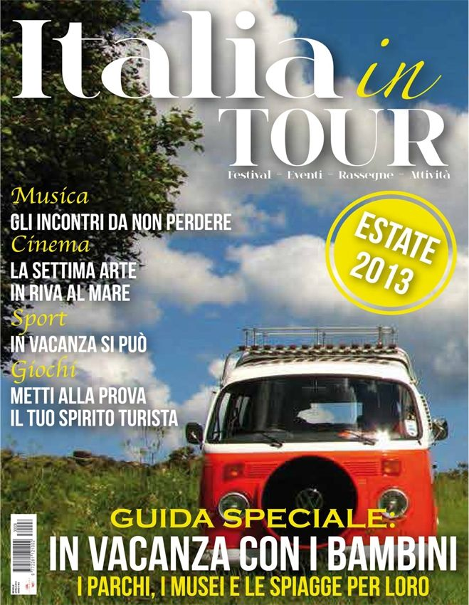 Italia IN TOUR - copertina