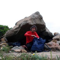reportage Valle della Luna - la piccola grotta