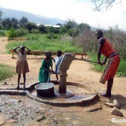 pozzo d'acqua in Karamoja