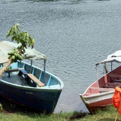 barche sul fiume Nilo