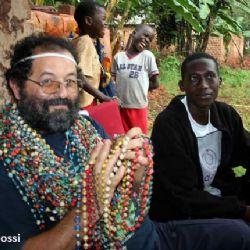 Giorgio in villaggio diKampala