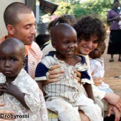 Nicolò e Paolo all'orfanotrofio di Moroto