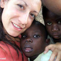 Anita all'orfanotrofio di Moroto