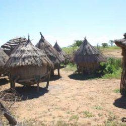 dispense nel villaggio di Kidepo