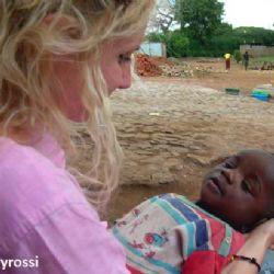Serena all'orfanotrofio di Moroto