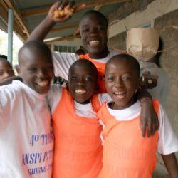 partita di calcio all'Alice Village - reportage Kenya