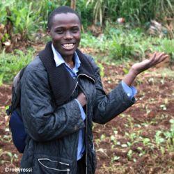 Maurice allo slum di Kibera - reportage Kenya