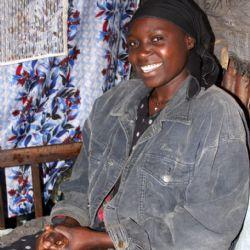 Liilian Atheno allo slum di Kibera - reportage Kenya