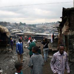 slum di Mathare - reportage Kenya