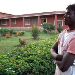 Bruno Portabene all'orfanotrofio di Malindi - reportage Kenya