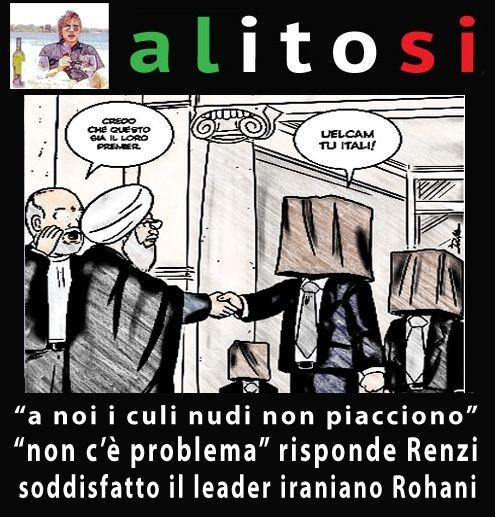 Alitosi per Renzi e Rohani