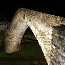ponte della Maestà di notte