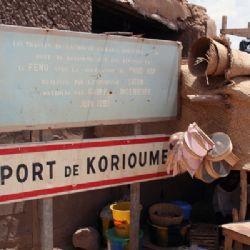 il porto di Korioumè