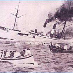 naufragio della Sirio