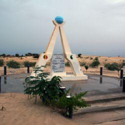 monumento alla porta del deserto