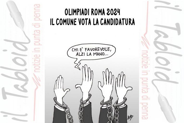 No alla Candidatura di Roma Olimpiadi 2024