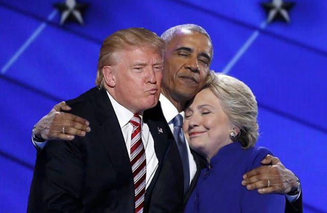 Obama - Trump - Hilary