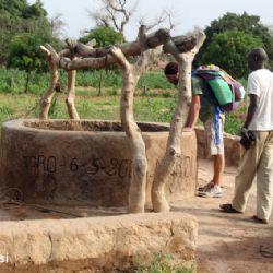 pozzo d'acqua nei Pays Dogon