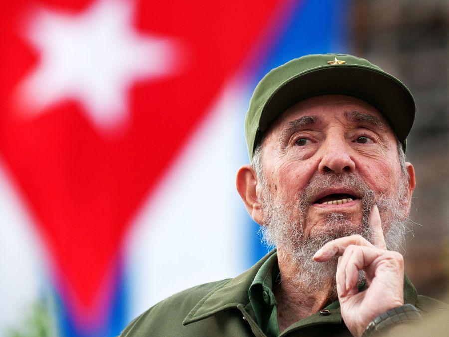Fidel Castro - lider maximo - Cuba