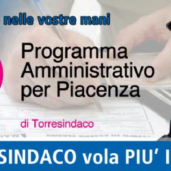 Stefano Torre sindaco di Piacenza