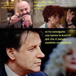 Oscar Giannino - Valeria Fedeli - Giuseppe Conte: cosa li accomuna?