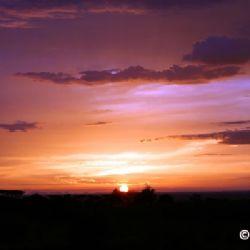 tramonto in Karamoja