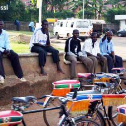 bicitaxi a Kampala