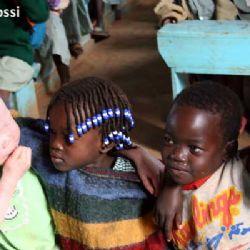 bambini all'orfanotrofio di Moroto