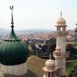 veduta aerea di Kampala