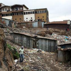 Slum di Kibera - Nairobi