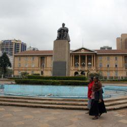 piazza Kenyatta - Nairobi