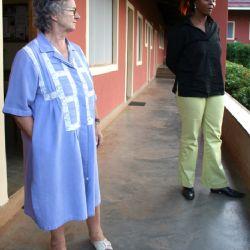 Maria nel suo orfanotrofio di Malindi