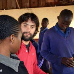 Nello slum di Soweto