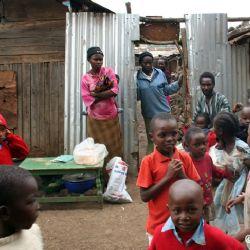 vita dello slum di Soweto
