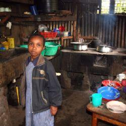 cucina dello slum di Soweto