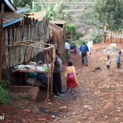 allo slum di Nyeri