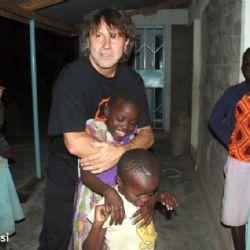 con bambini all'Alice Village