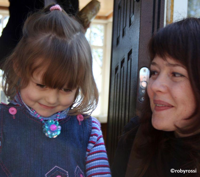 reportage dalla Bielorussia - Janna con bimba