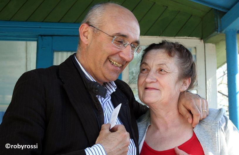 reportage dalla Bielorussia - Annibale con una mamma