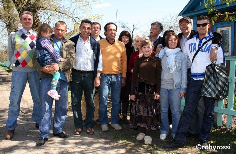 reportage dalla Bielorussia - gruppo di volontari dell'associazione
