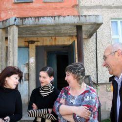 reportage dalla Bielorussia - Janna e Annibale a Minsk