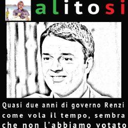 Quasi due anni ormai di Renzi al governo