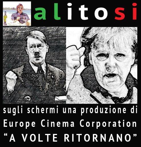 la nuova guerra Merkel come Hitler